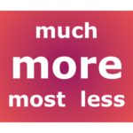 <b>Less is more.</b>