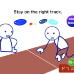 <b>(33) Stay on the right track.</b>