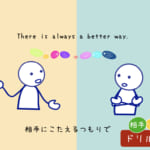 <b>(55) ドリル編 リズム・相手  There is always a better way.</b>