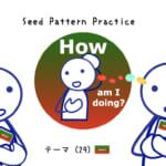 <b>なりきりコース Seed Pattern Practice (29) How am I doing?</b>